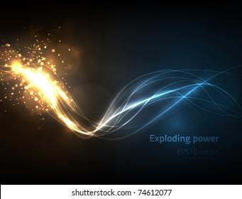 EPS10 vector exploding power