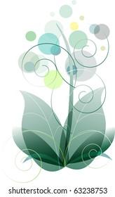 eps10 vector flower