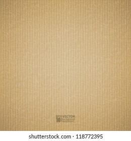 eps10 vector illustration abstract realistic cardboard background texture