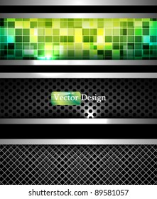 Eps10 Vector Modern Futuristic Steel Concept Design