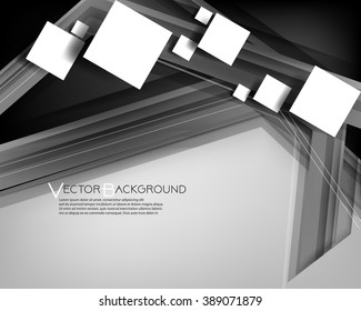 Eps10 Vector Square Abstract Background