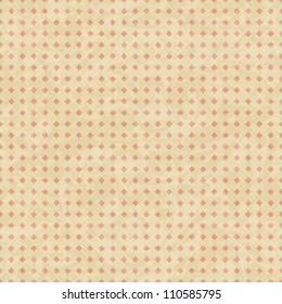 EPS10 vintage grunge old seamless pattern. Vector texture.