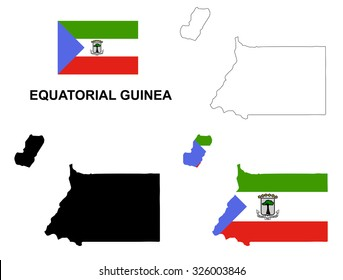 Royalty Free Equatorial Guinea Map Images, Stock Photos & Vectors ...