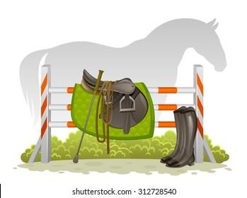 Equestrian kit