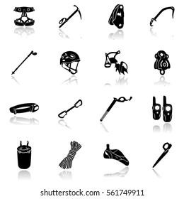 Equipment For Mountaineering Icon-Illustration