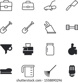 equipment vector icon set such as: laboratory, weights, led, gym, label, lifestyle, wooden, stationery, man, accessibility, mower, exercise, measure, secretary, season, electricity, bottleneck, human