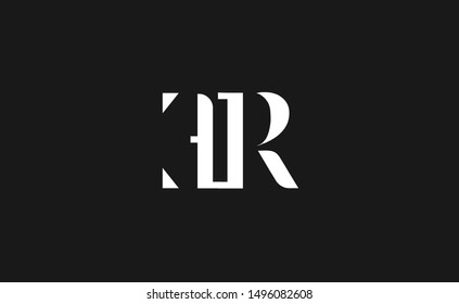 ER, RE letter Logo Design Template Vector