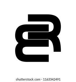er letter vector logo. re letter vector logo