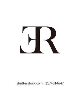 er letter vector logo