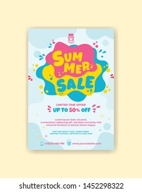 er super sale poster template. A2 size