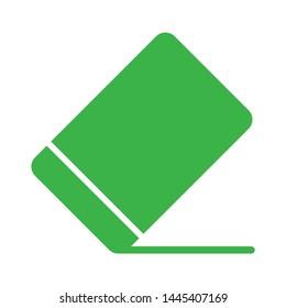 eraser  icon. Logo element illustration.  eraser  design. colored collection.   eraser  concept. Can be used in web and mobile