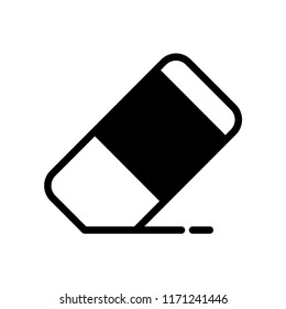 Eraser icon, Eraser icon vector, in trendy flat style isolated on white background