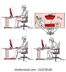 Ergonomic of computer workplace 2