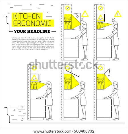 Ergonomic Kitchen Design Simple Decorating Ideas