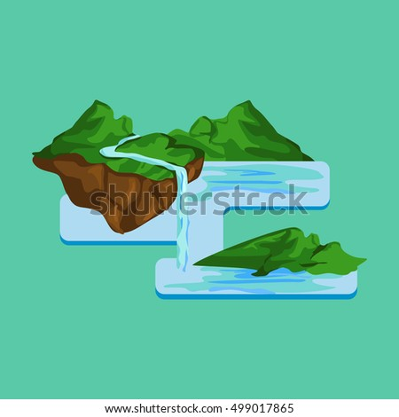 Erosion Diagram Stock Vector Royalty Free 499017865 Shutterstock