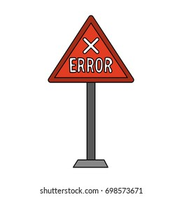 error sign icon image