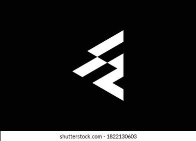 ES letter logo design on luxury background. SE monogram initials letter logo concept. ES icon design. SE elegant and Professional white color letter icon design on black background. ES SE E S