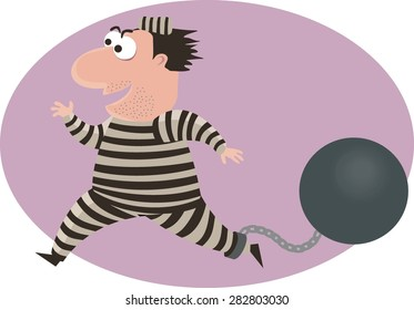 Escaping convict