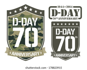 Escutcheon D-DAY Anniversary