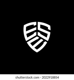 ESE Unique abstract geometric vector logo design