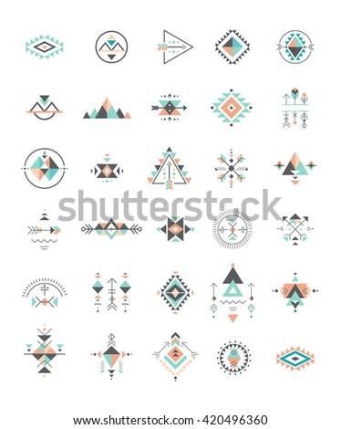 Esoteric Alchemy Boho Bohemian Sacred Geometry Stock Vector Royalty