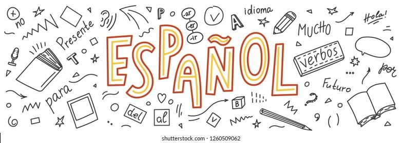 Collage sobre español