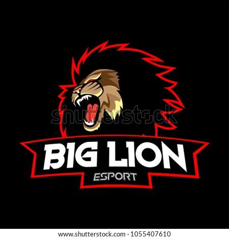 esport logo design template stock vector royalty free 1055407610