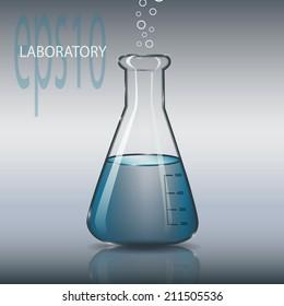 est Glass laboratory tube