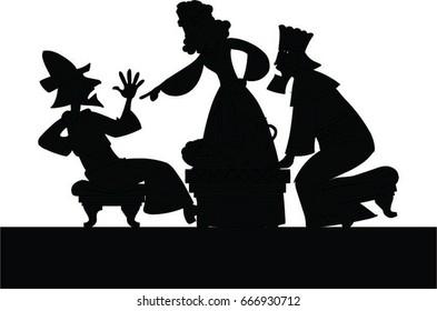 Esther denouncing Haman