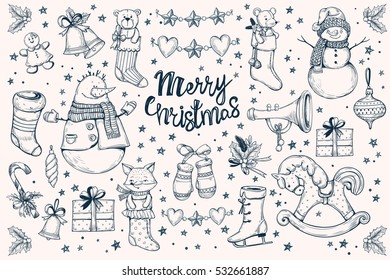 Christmas Images For Drawing.Christmas Drawing Images Stock Photos Vectors Shutterstock