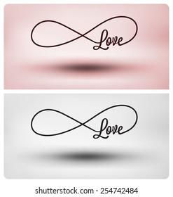 Eternal love symbol - Infinite sign