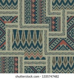 ethic  bandanna pattern