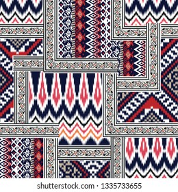 ethic and tribal bandanna pattern