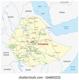 ethiopia road map