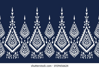 Ethnic abstract background. Seamless pattern in tribal, folk embroidery, and Mexican style. Aztec geometric art ornament print.Design for carpet, wallpaper, clothing, wrapping, fabric, cover, textile