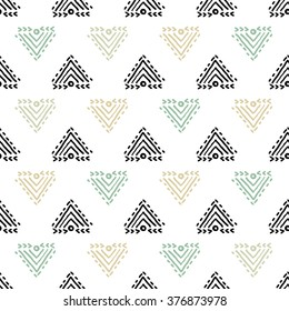 Ethnic background with fgeometric elements. Used for wallpaper, pattern fills, web page background, surface textures.