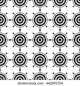 Ethnic boho seamless pattern with decorative snowflakes. Print. Repeating background. Cloth design, wallpaper.