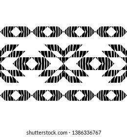 Ethnic boho seamless pattern. Texture with Zebra stripes. Patchwork texture. Weaving. Traditional ornament. Tribal pattern. Folk motif. Can be used for wallpaper, textile, invitation card, wrapping.