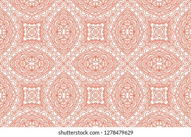 Ethnic geometric vector seamless pattern. Hand drawn ornaments, patterns.