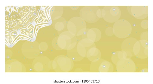 Ethnic Mandala ornament. Templates with mandalas. Vector illustration for congratulation or invitation Diwali festival greeting card