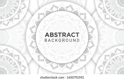 Ethnic Mandala Seamless Pattern. Fit for premium packaging design, decorative and other ethnic background