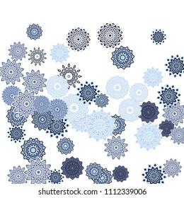 Seamless Vector Texture Circles Stock Vector (Royalty Free) 43452355