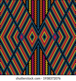 Ethnic ornament for fabrics, interiors, ceramics and furniture in the style of Latin America.