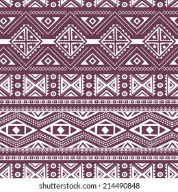 Ethnic ornamental textile seamless pattern for your own design