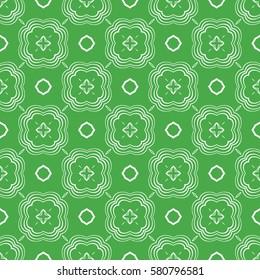 Ethnic pattern. Seamless vector illustration. For decoration, wallpaper, print, fabric
