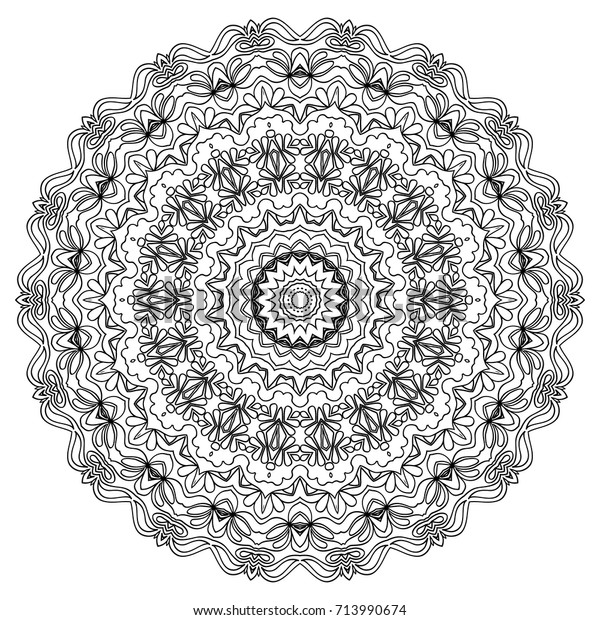 ethnic print adult coloring page 600w