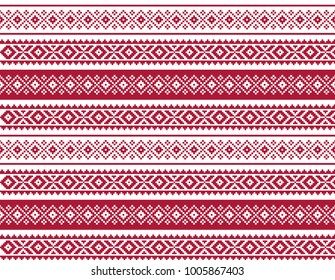 Ethnic traditional pattern design