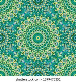 Ethnic vector geometric seamless pattern. Textile print ornament. Spanish tile seamless pattern. Geometric folk background.