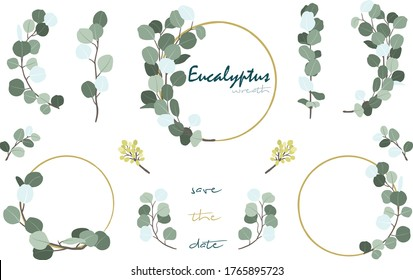 Eucalyptus Foliage Wreath Collections Set