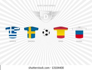 EURO 2008 Series - Group D